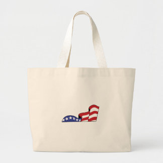 Stars and Stripes Large Tote Bag