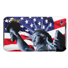 Stars and Stripes liberty Barely There iPod Cover