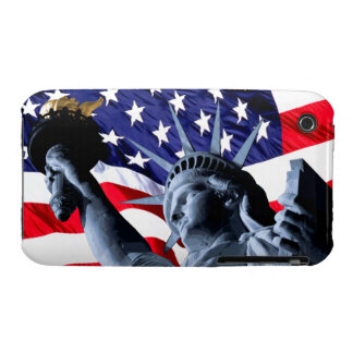 Stars and Stripes liberty iPhone 3 Cases