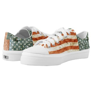 Stars and Stripes... Low-Top Sneakers
