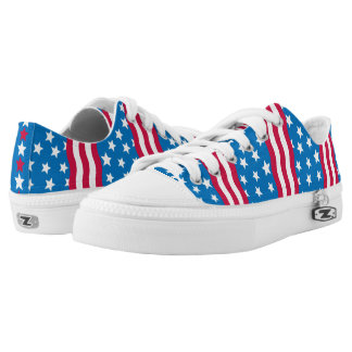 Stars and Stripes low tops