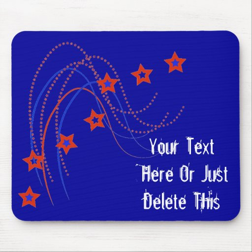 Stars And Stripes Mousepad Mouse Pads