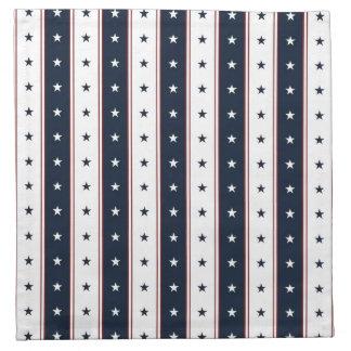 Stars and Stripes Cloth Napkin