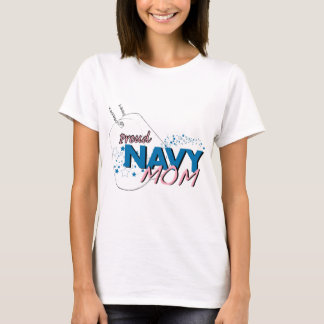 Stars and Stripes Navy Mom T-shirt