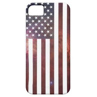 Stars and Stripes Nebula iPhone 5 Covers
