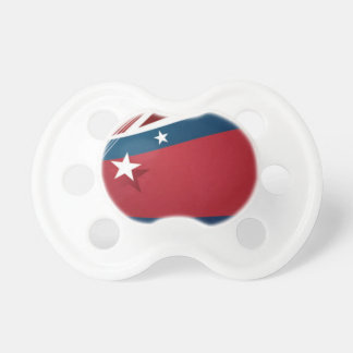 Stars and Stripes Baby Pacifiers
