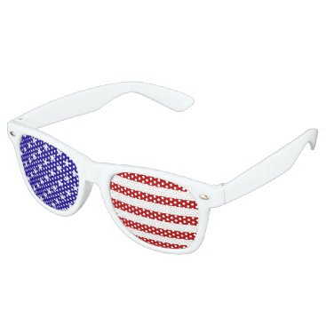 flutterbi Stars and Stripes party shades