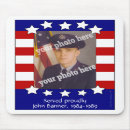 Stars and Stripes Patriotic Custom Photo Mousepad mousepad