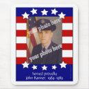 Stars and Stripes Patriotic Custom Photo Mousepad mousepad