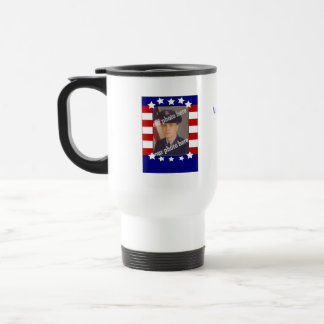 Stars and Stripes Patriotic Custom Photo TravelMug Coffee Mugs