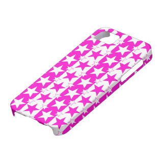 Stars and Stripes Pattern 2 Pink iPhone 5 Cases