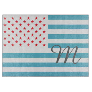 Stars and Stripes personalized monogram