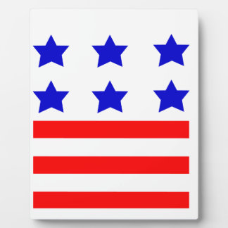 Stars and Stripes Display Plaque