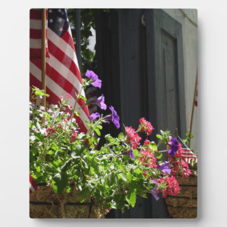 Stars and Stripes Plaque