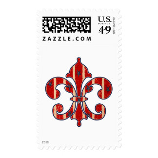 Stars and Stripes Postage Stamp