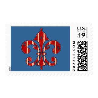 Stars and Stripes Postage Stamp