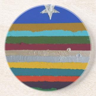 STARS and STRIPES Sandstone Coaster