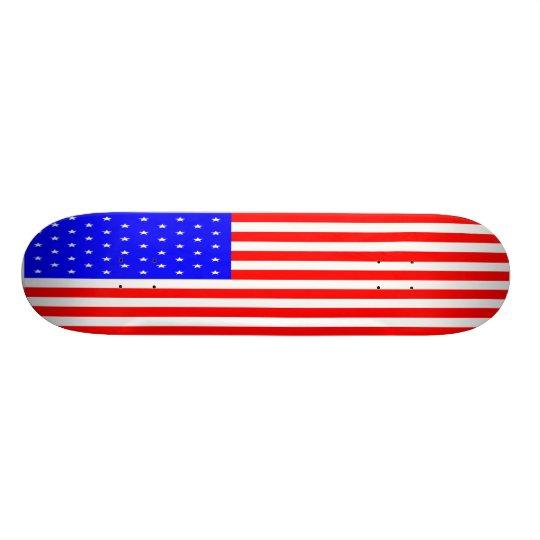 Stars and Stripes Skateboard