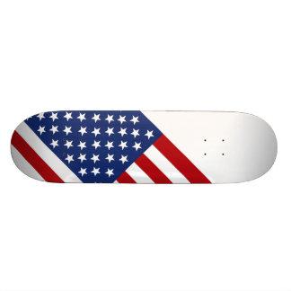 Stars and Stripes Custom Skate Board