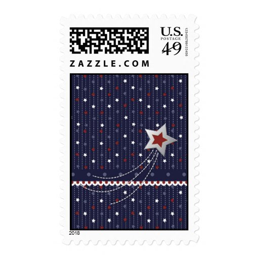 Stars and Stripes Stamp
