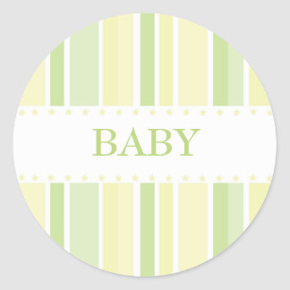 Stars and Stripes Sticker (yellow-green)