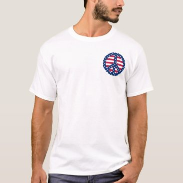 peacegifts Stars and Stripes T-Shirt