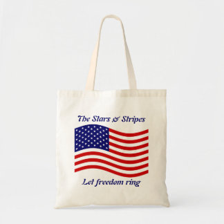 stars and stripes tote