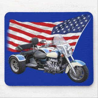 Stars and Stripes Trike Mouse Pad