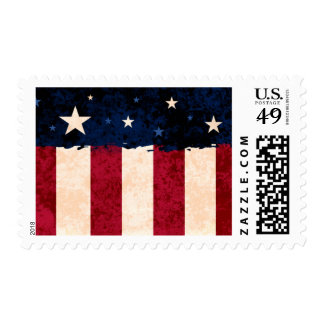 Stars and Stripes USA Flag Patriotic - Medium Stamps