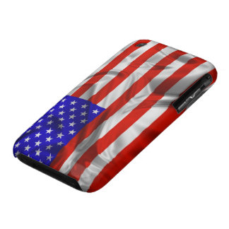 Stars and Stripes Usa Silk Flag iPhone 3G case iPhone 3 Covers