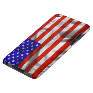 Stars and Stripes Usa Silk Flag iPod Touch iPod Touch Case