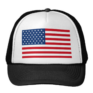 Stars and Stripes USA Trucker Hat