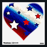 """STARS AND STRIPES Wall Decal<br><div class=""""desc"""">Feeling patriotic.</div>"""
