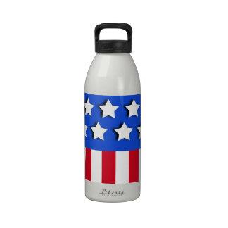 Stars and Stripes Drinking Bottles