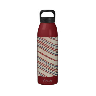 Stars and Stripes Waving Drinking Bottles