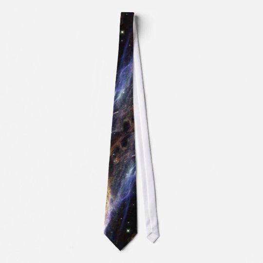 Stars and the Nebula Neck Tie