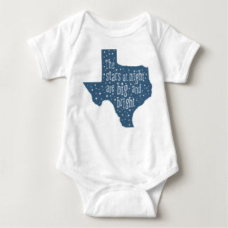 Stars at Night Texas Baby Bodysuit