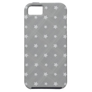 Stars background with textile pattern iPhone SE/5/5s case