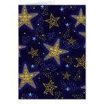 stars blank card