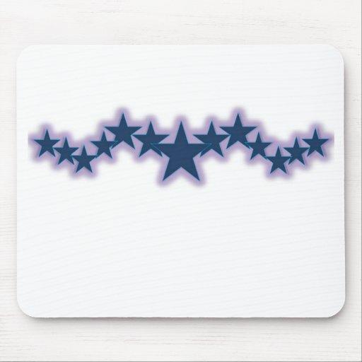 Stars Blue Mouse Pad