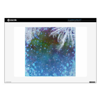 Stars blue sky background abstract laptop decals