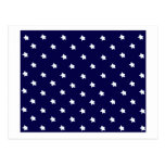 Stars Blue White The MUSEUM Zazzle Gifts Postcard