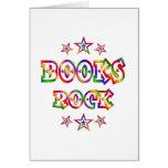 Stars Books Rock Card