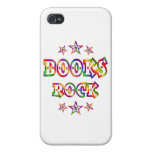Stars Books Rock iPhone 4 Cases