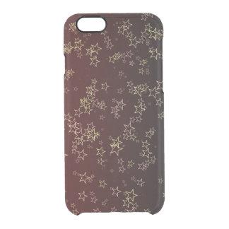 Stars bordeaux clear iPhone 6/6S case