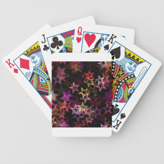 Stars Bright Night Design Bicycle Playing Cards