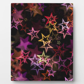 Stars Bright Night Design Plaque