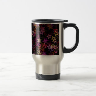 Stars Bright Night Design Travel Mug