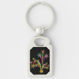 Stars Bursting - Keychain
