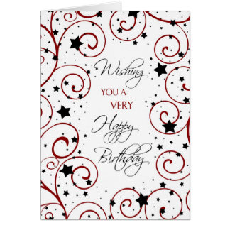 Stars Business from Group Birthday Card
